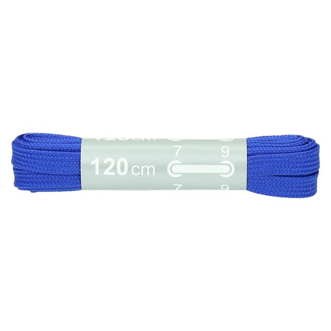 Kolorowe sznurówki bata, niebieski, 999-9266 - 13