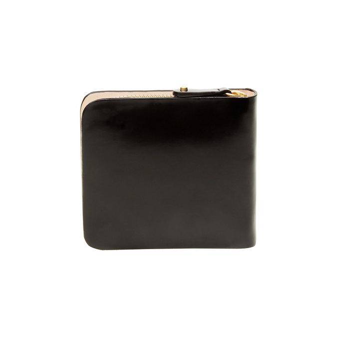 Skórzany portfel vagabond, czarny, 944-6130 - 26
