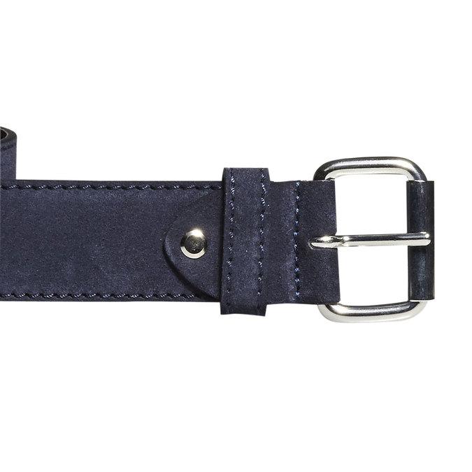 Skórzany pasek bata, niebieski, 953-9106 - 26