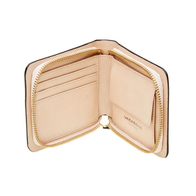 Skórzany portfel vagabond, czarny, 944-6130 - 16