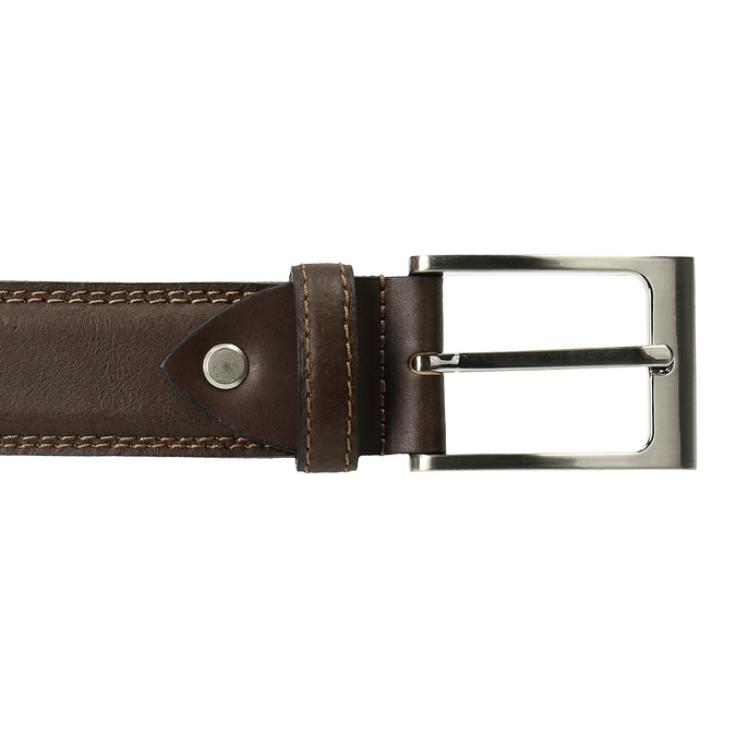 Męski pasek bata, brązowy, 954-4828 - 26