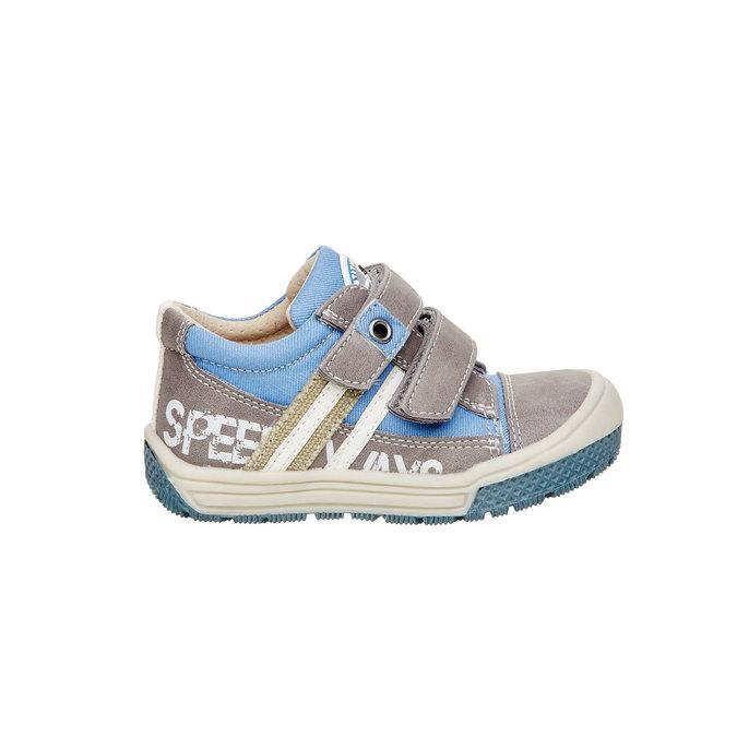 Dziecięce buty na rzep mini-b, szary, 111-2104 - 26