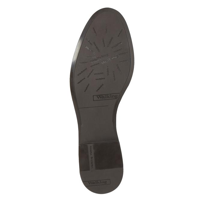 Buty za kostkę ze skóry z suwakami bata, czerwony, 596-5605 - 26
