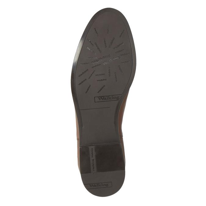 Brązowe skórzane buty Chelsea Boots bata, brązowy, 594-4604 - 26