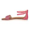 Dziecięce różowe sandały mini-b, różowy, 361-5161 - 26