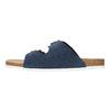 Kapcie męskie ze skóry de-fonseca, niebieski, 873-9610 - 26