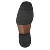 Męskie skórzane półbuty bata, czarny, 824-6655 - 26