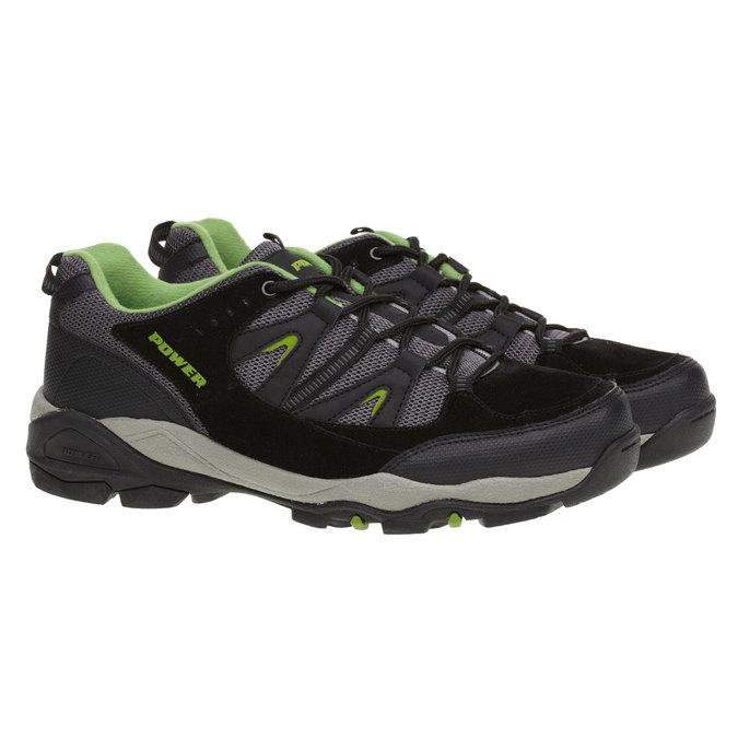 Skórzane buty sportowe power, czarny, 803-6284 - 26