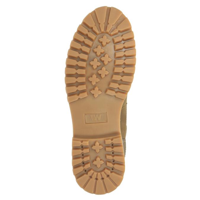 Zimowe buty męskie ze skóry weinbrenner, brązowy, 896-3102 - 26