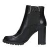 Botki na obcasie z elastycznymi bokami bata, czarny, 791-6604 - 26