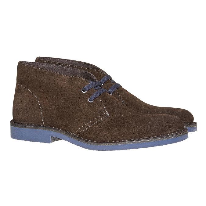 Buty do kostki w stylu Chukka bata, brązowy, 893-4275 - 26