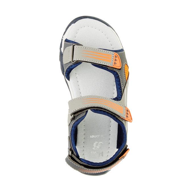 Sandały dziecięce mini-b, szary, 261-2168 - 19