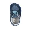 Dziecięce skórzane kapcie bata, niebieski, 104-9001 - 19