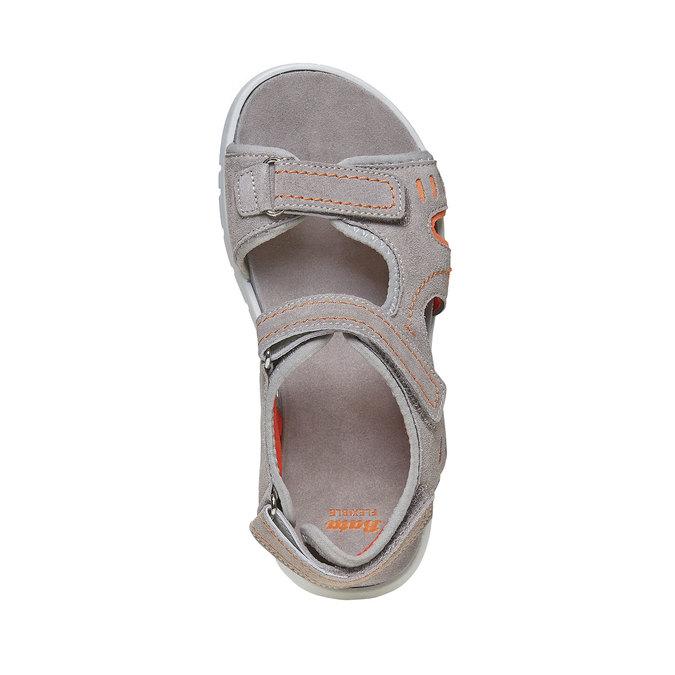 Sandały dziecięce flexible, szary, 363-2188 - 19