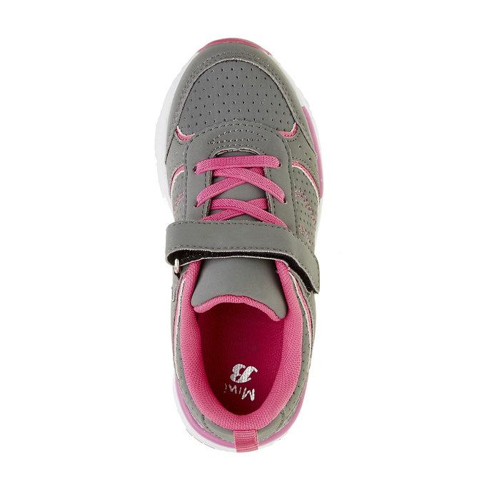 Dziecięce buty sportowe mini-b, szary, 321-2185 - 19