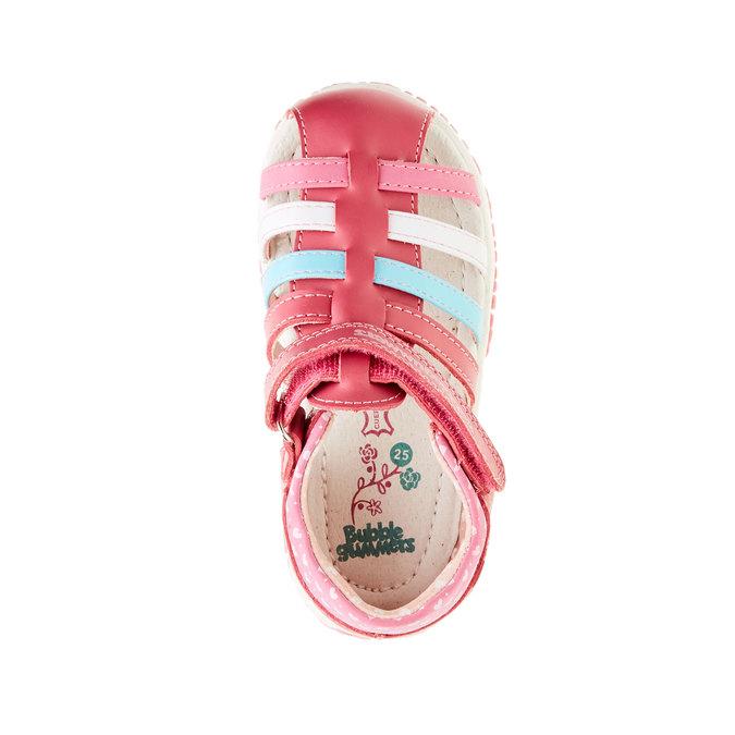 Dziecięce buty z zakrytą piętą bubblegummer, różowy, 124-5142 - 19