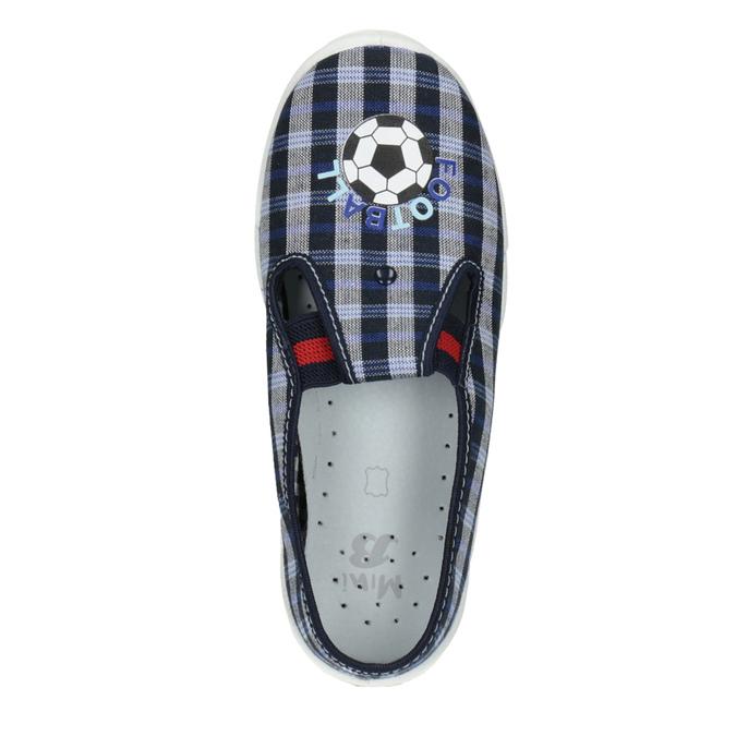 Dziecięce buty na zmianę mini-b, niebieski, 379-2212 - 19