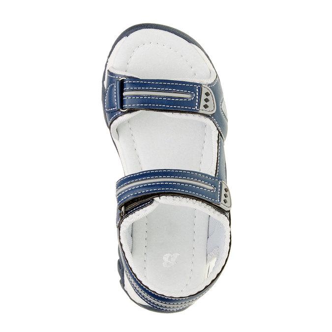 Sandały dziecięce mini-b, niebieski, 361-9181 - 19