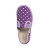 Domowe buty dziecięce w kropki bata, fioletowy, 279-9103 - 19