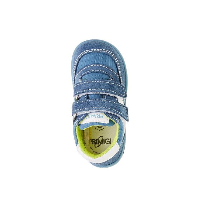 Dziecięce buty sportowe na rzepy primigi, niebieski, 119-9141 - 19