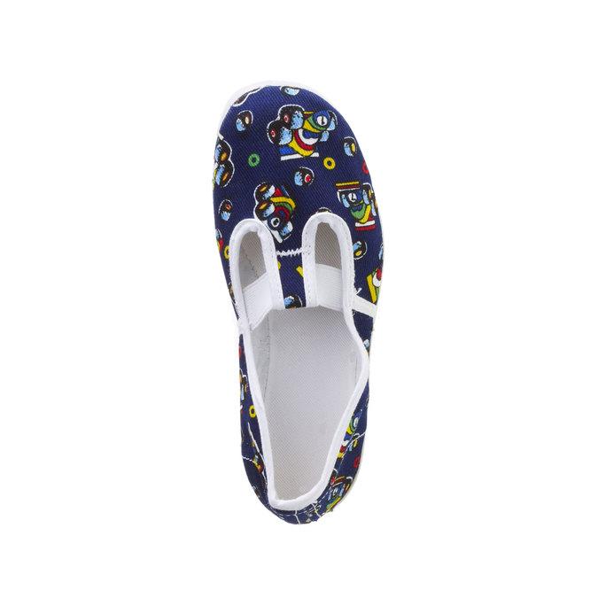 Tenisówki dziecięce z obrazkami bata, niebieski, 279-9102 - 19