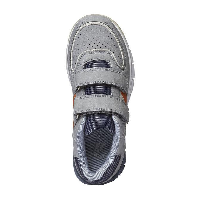 Dziecięce buty sportowe na rzepy mini-b, szary, 311-2190 - 19