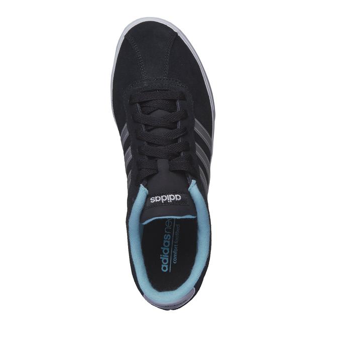 Zamszowe buty sportowe na co dzień adidas, czarny, 503-6685 - 19