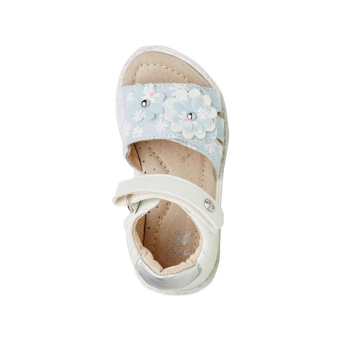 Sandały dziecięce mini-b, biały, 169-1100 - 19