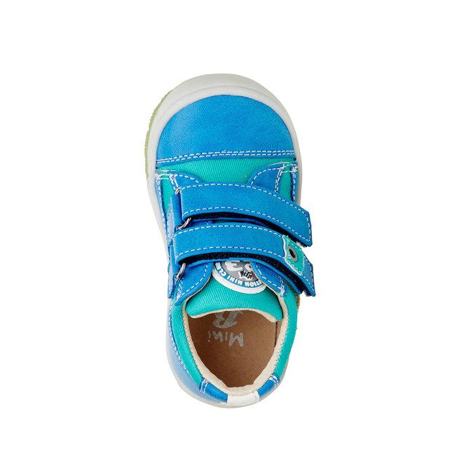 Dziecięce buty na rzep mini-b, niebieski, 111-9104 - 19