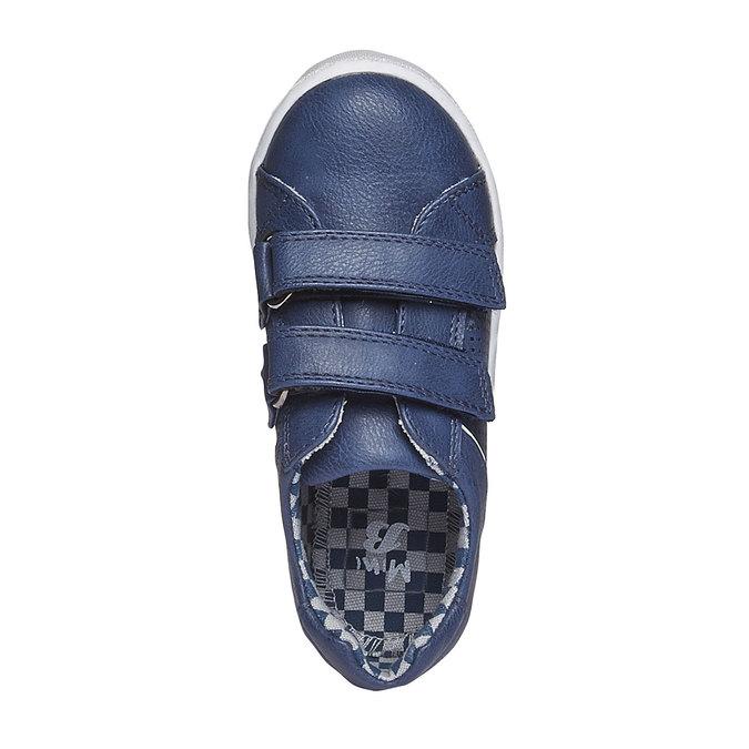 Dziecięce buty sportowe na rzepy mini-b, niebieski, 211-9151 - 19