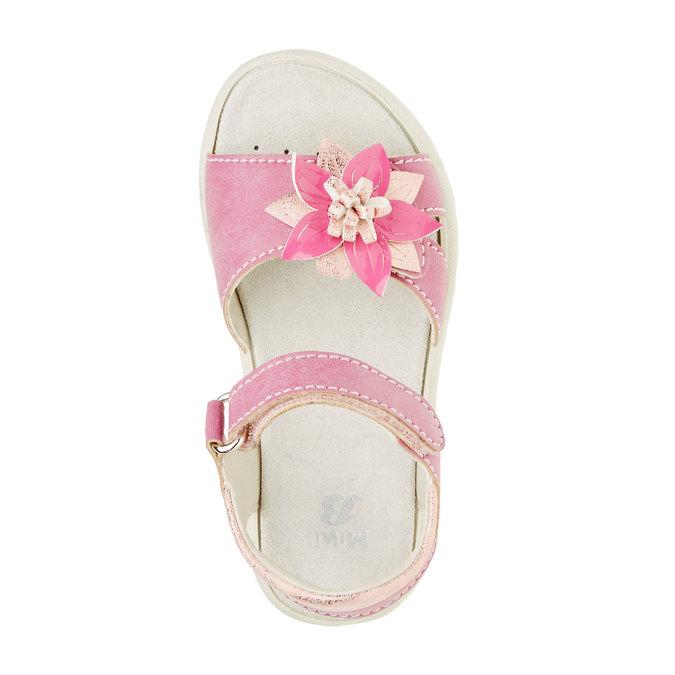 Sandały dziecięce mini-b, różowy, 361-5119 - 19