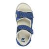 Dziecięce sandały ze skórzanymi paskami mini-b, niebieski, 264-9166 - 19