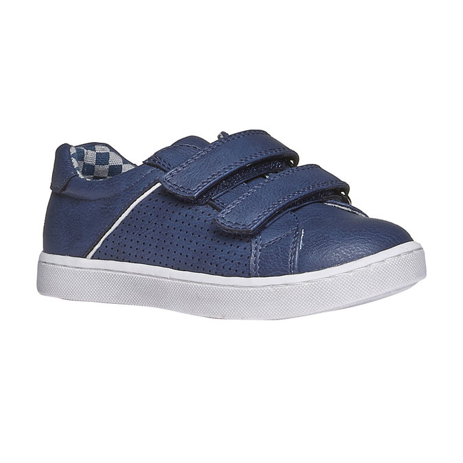 Dziecięce buty sportowe na rzepy mini-b, niebieski, 211-9151 - 13