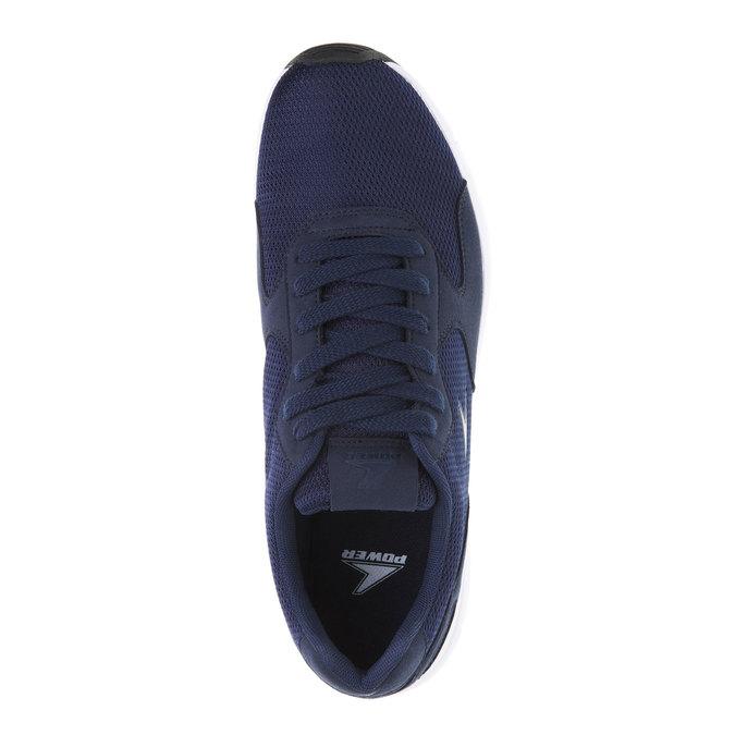 Męskie buty sportowe power, niebieski, 809-9159 - 19