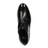 Damskie półbuty ze skóry za kostkę bata, czarny, 598-6601 - 19