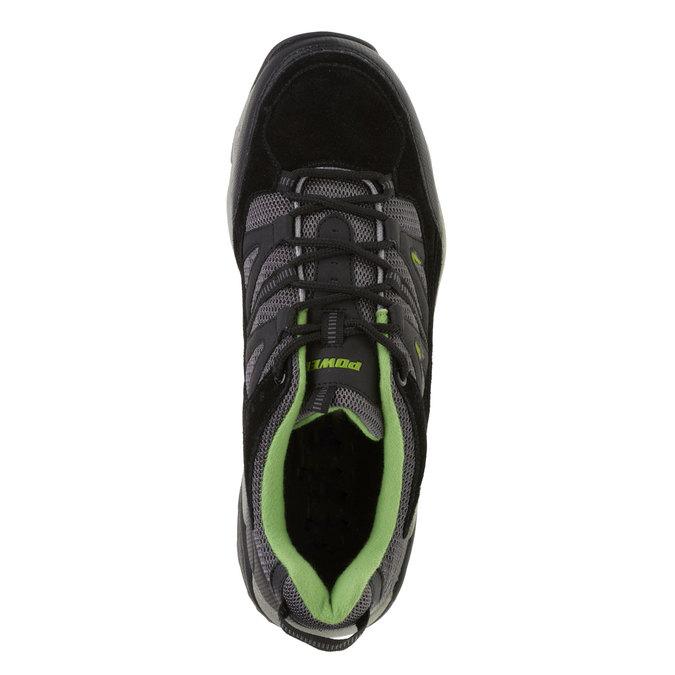 Skórzane buty sportowe power, czarny, 803-6284 - 19