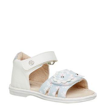 Sandały dziecięce mini-b, biały, 169-1100 - 13