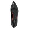 Czarne skórzane czółenka rockport, czarny, 724-6110 - 19