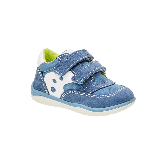 Dziecięce buty sportowe na rzepy primigi, niebieski, 119-9141 - 13