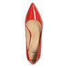 Czółenka damskie ze skóry insolia, czerwony, 728-5620 - 19