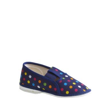 Kapcie dziecięce bata, niebieski, 179-9105 - 13