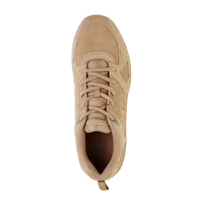Skórzane buty sportowe power, brązowy, 803-3112 - 19