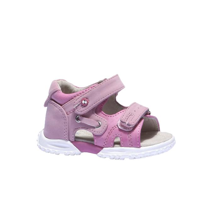 Sandały dziewczęce mini-b, czerwony, 161-5116 - 13