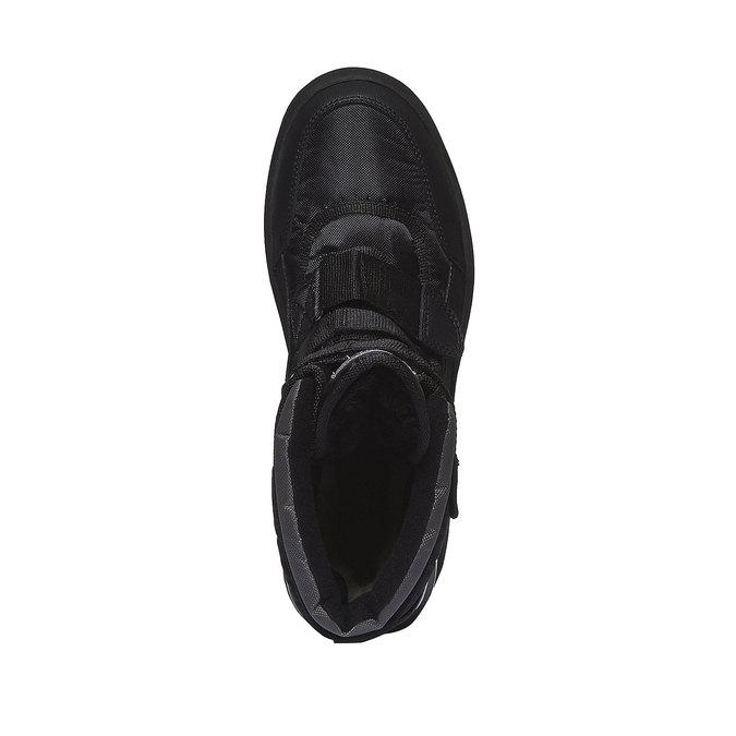 Buty zimowe bata, czarny, 899-6101 - 19