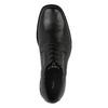 Męskie skórzane półbuty bata, czarny, 824-6655 - 19