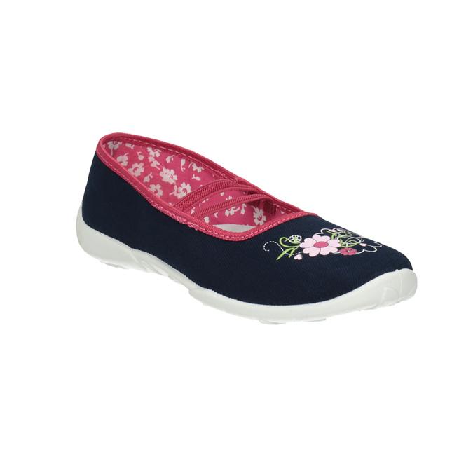 Domowe buty dziecięce mini-b, niebieski, 379-9208 - 13