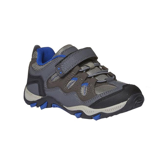 Dziecięce buty sportowe mini-b, szary, 311-2218 - 13