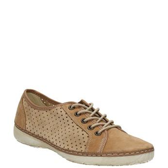 Skórzane buty sportowe weinbrenner, brązowy, 546-4238 - 13