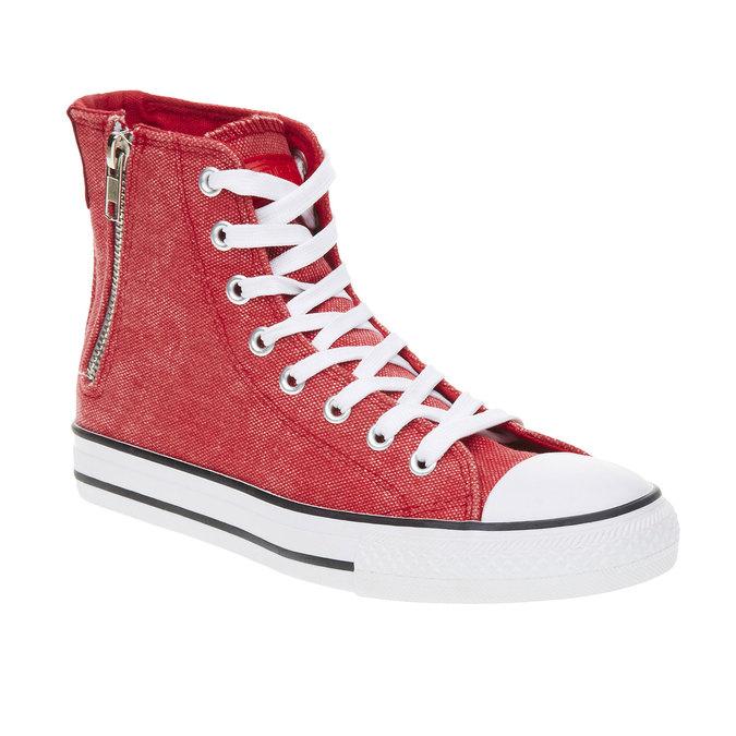 Czerwone buty sportowe do kostki north-star, czerwony, 589-5312 - 13