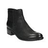 Botki damskie bata, czarny, 696-6605 - 13